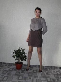 Работа с названием Моя замша, платье 118 №02/2013