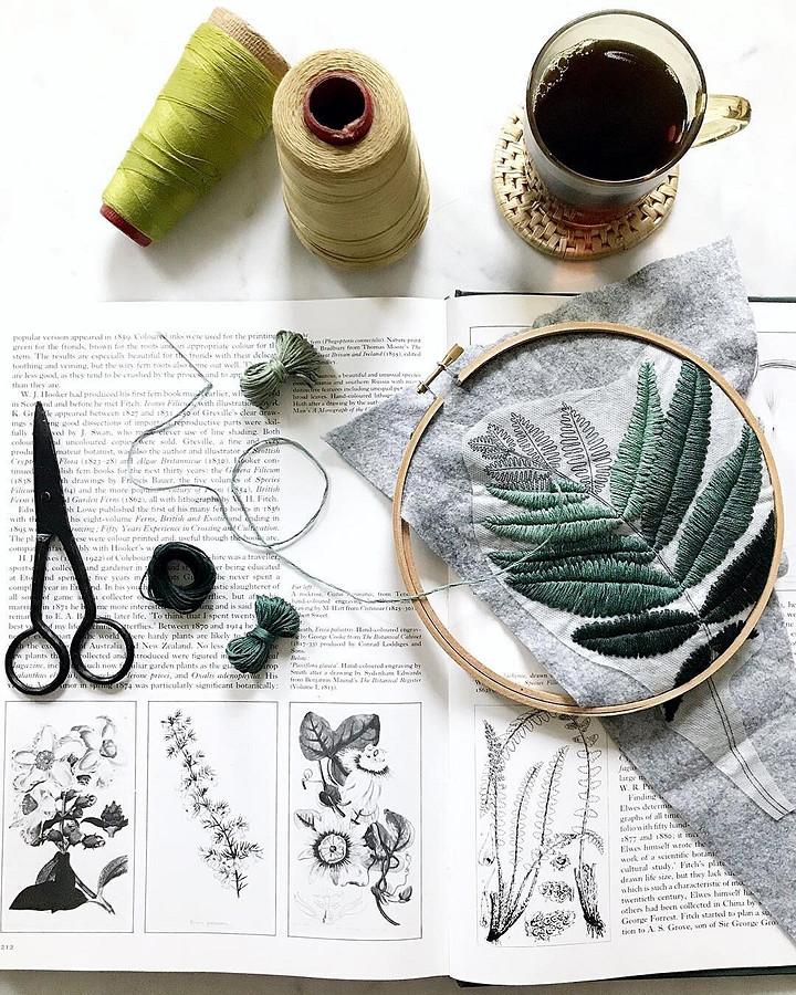 Я думаю онитках как окрасках: рукодельный instagram недели