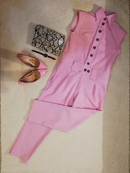 Работа с названием Розовый фламинго