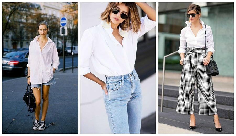 Как выбрать белую рубашку дляработы иотдыха