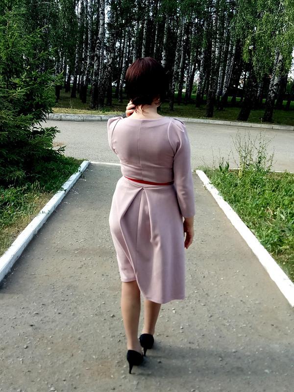 Платье изискусственной замши от Катя Лузина