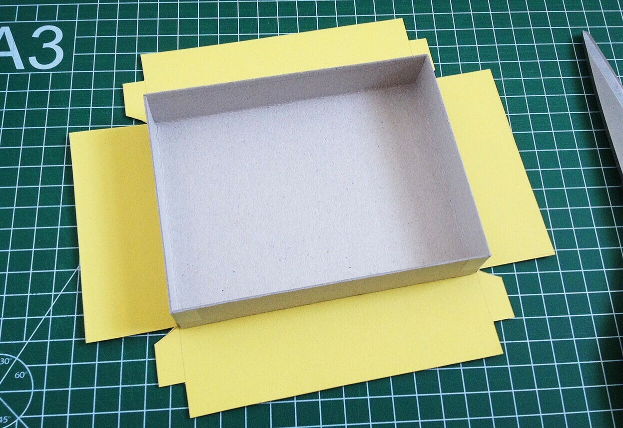 Как сделать коробку: 4 мастер-класса + видео