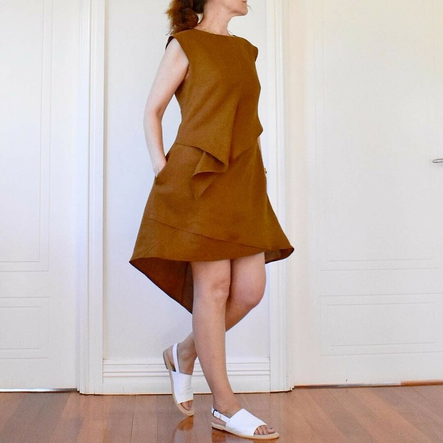 99% моего гардероба создано мной: швейный instagram недели