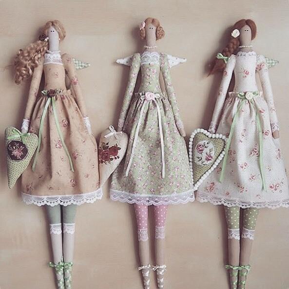 15 куколок-тильд, вкоторые вы влюбитесь