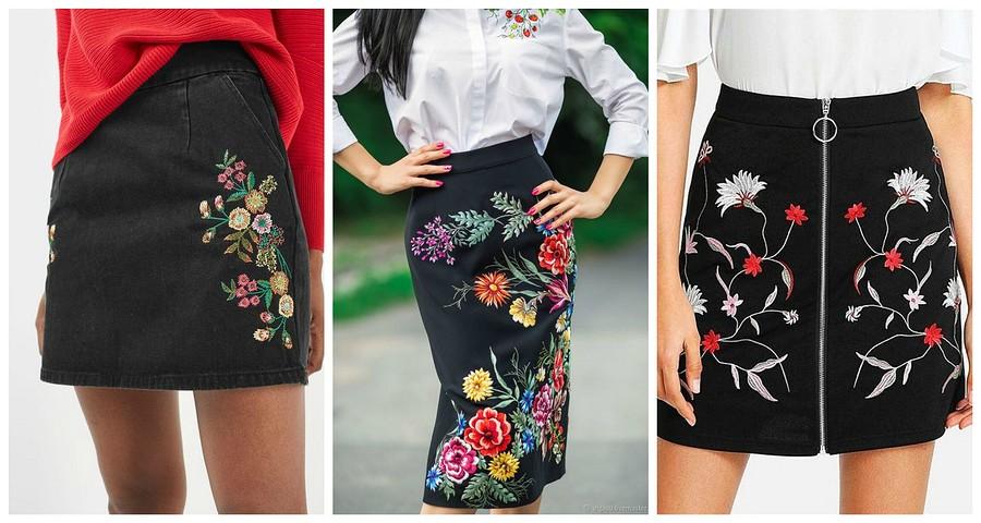 Как декорировать черную юбку: подборка креативных идей
