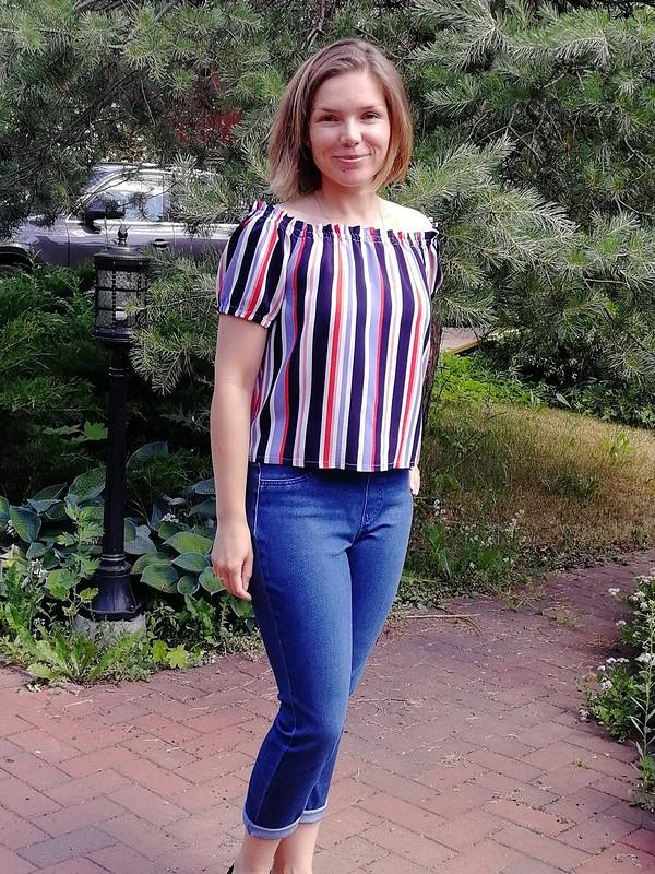 Блузка №115 6/2019 от OlgaSitnikova