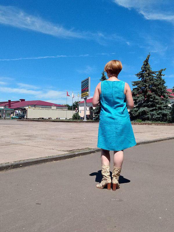 Простенькое платье