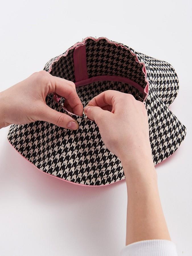 Летняя шляпка своими руками
