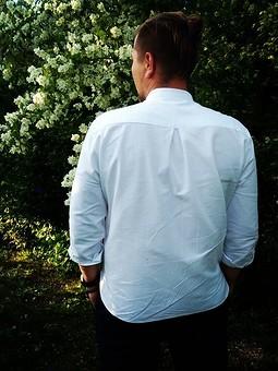 Работа с названием Мужская рубашка
