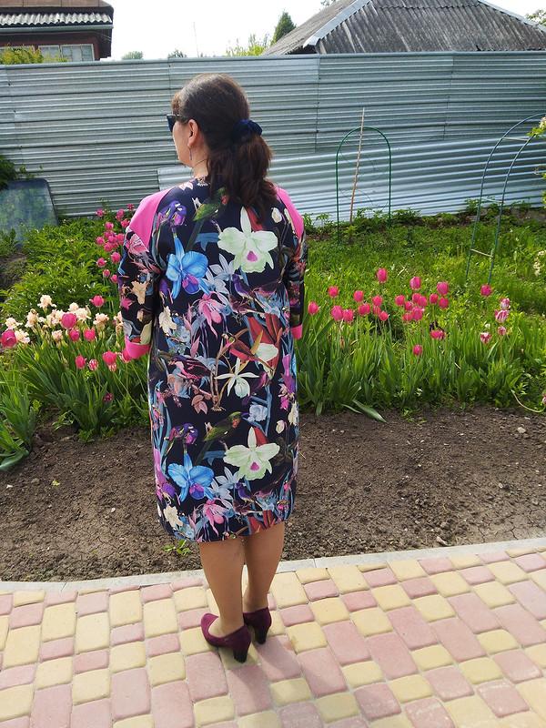 Пальто-пыльник «Тропический сад» от janni