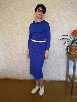 Работа с названием Любимое платье моего мужа.