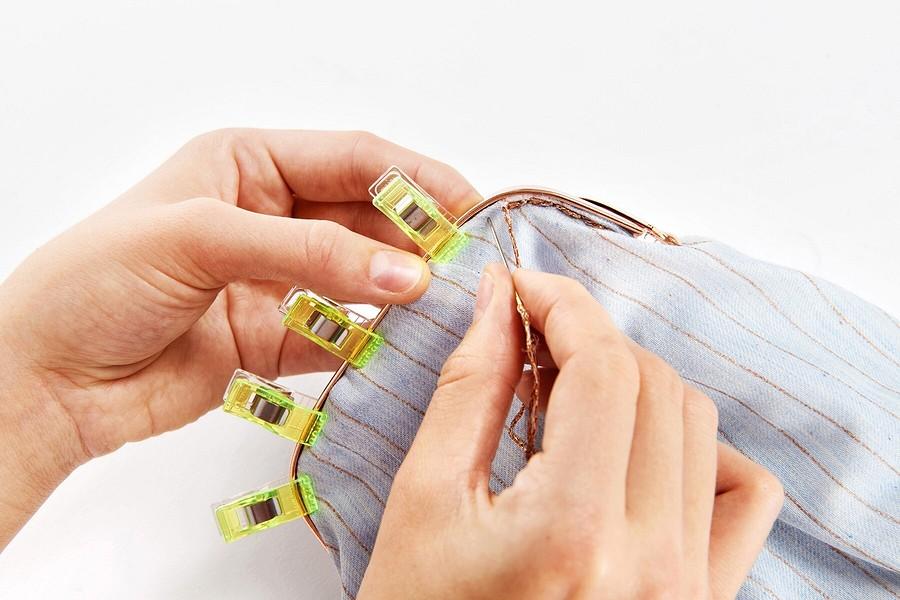 Изящное ретро: сумочка сфермуаром своими руками