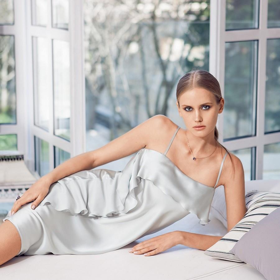 Платье вбельевом стиле: выбираем ткани, выкройки, крой