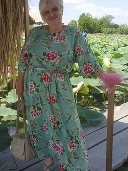 Работа с названием Платье из  майского  номера