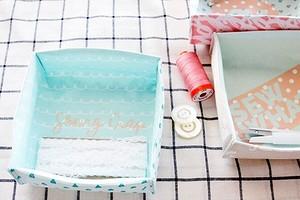 Как сшить текстильную коробку из ткани: мастер-класс + шаблон