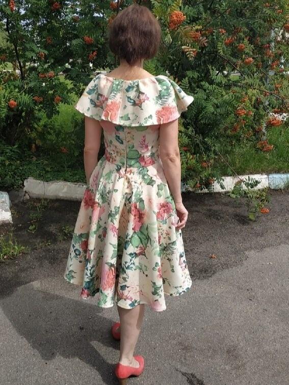 Вот оно какое - наше Лето! Ретро-платье отOlgaLeto :)