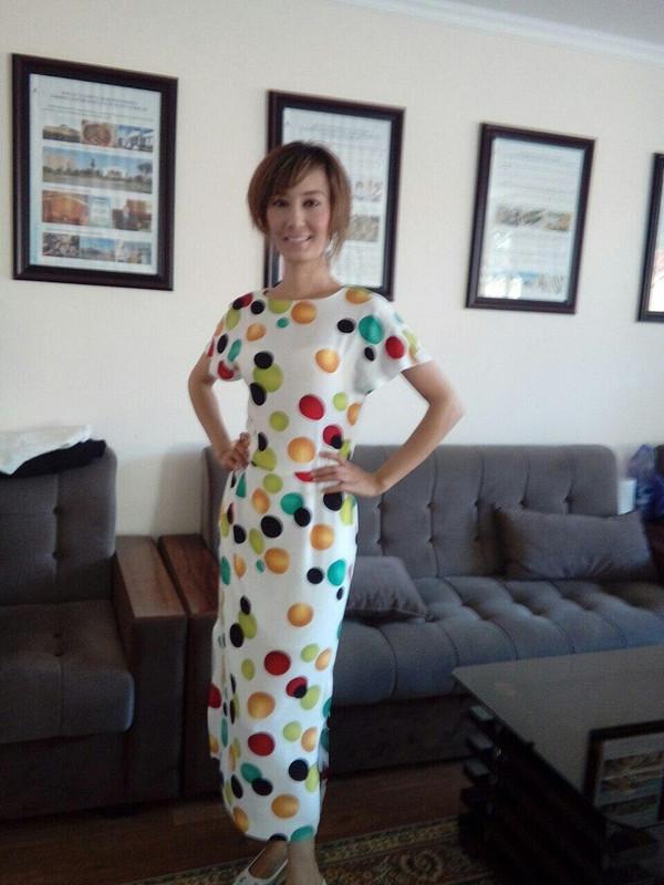Летнее платье от Znayka