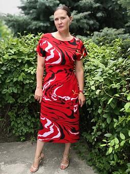 Работа с названием Моё горе платье))))