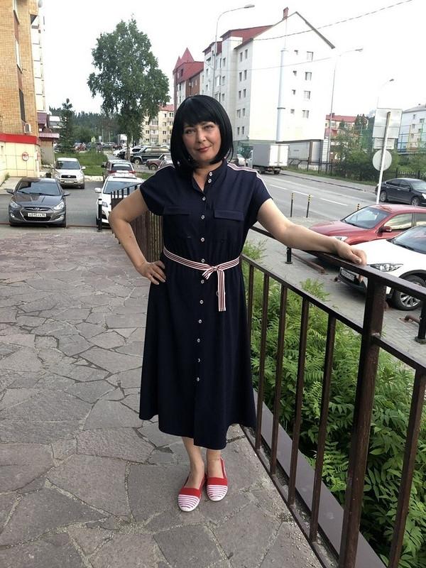 Платье вспортивном стиле от TataDru