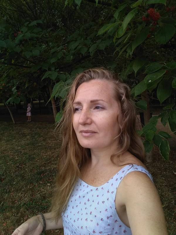 Полосатый сарафан от OlyaSesolya
