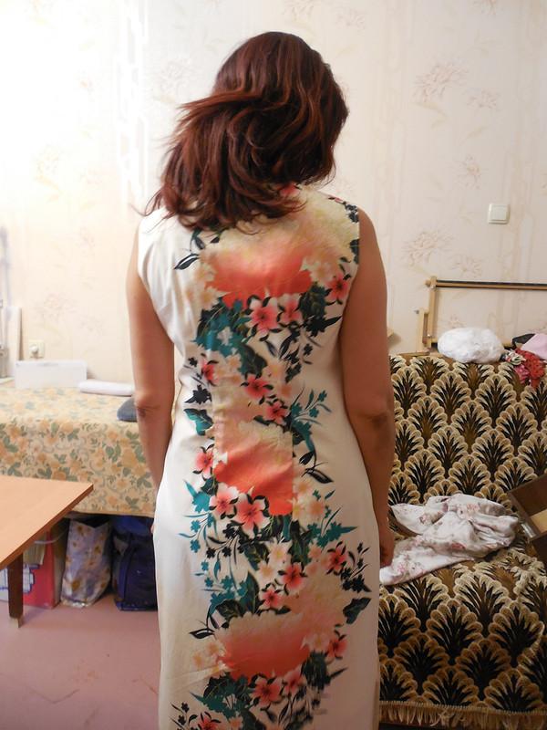 Платье изпоплина