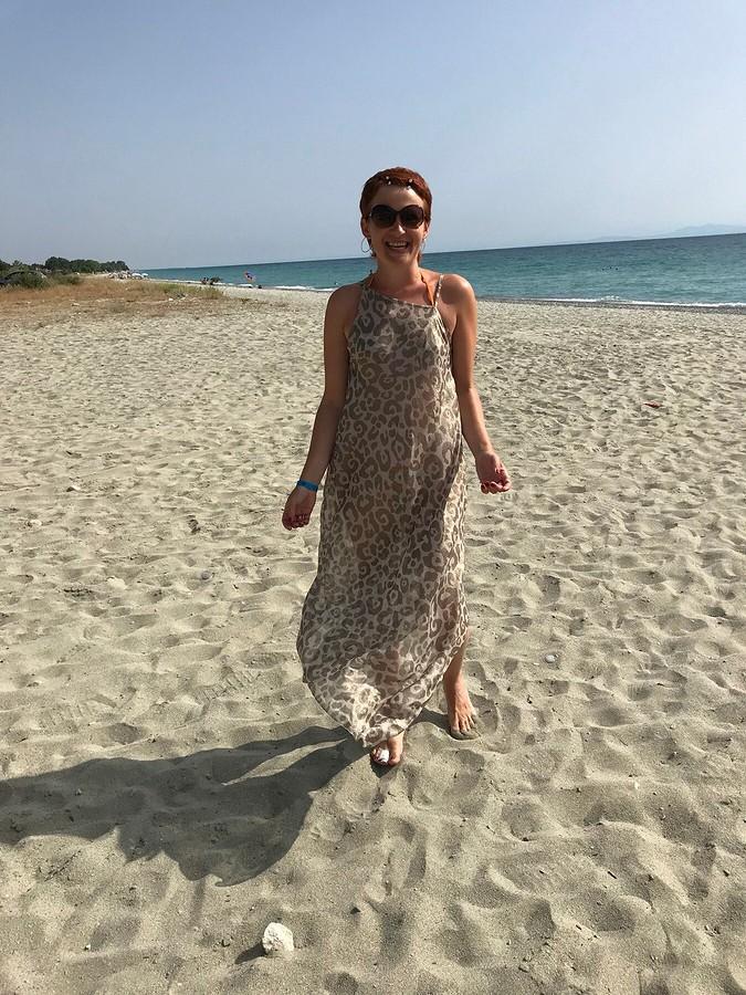 Пляжный сарафан безвыкройки своими руками