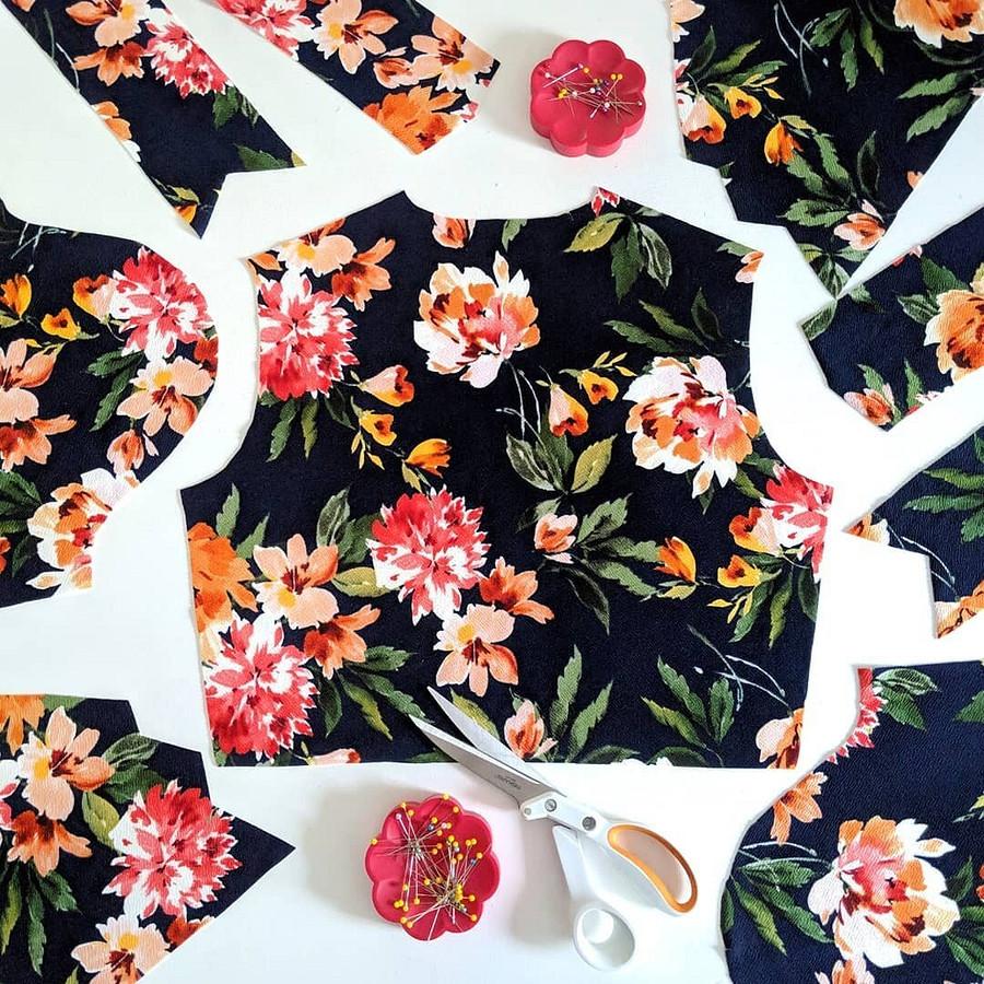 Только закрыв свой швейный бизнес, я стала шить длясебя: швейный instagram недели