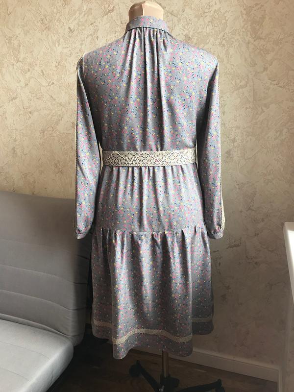 Платье вискоза
