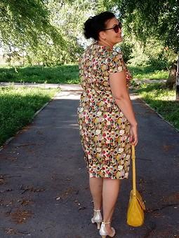 Работа с названием Платье с принтом от Marni