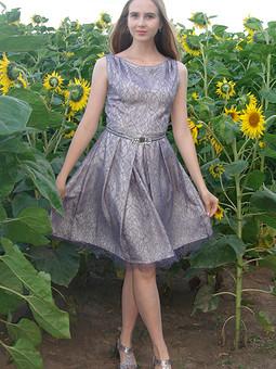 Работа с названием Элегантное платье