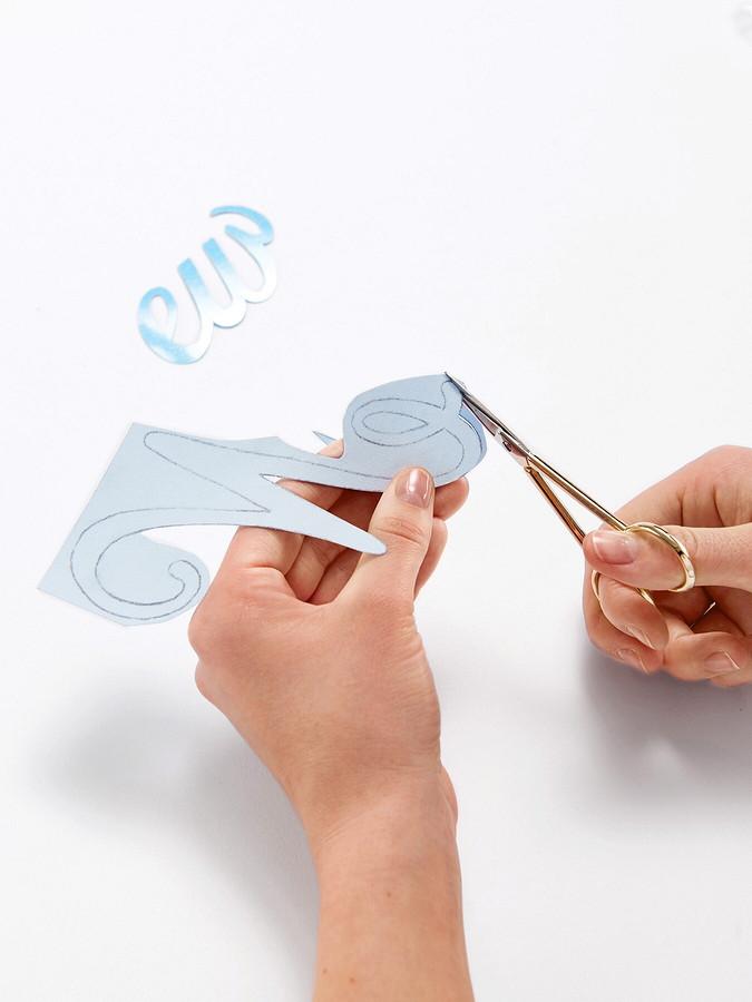 Аппликации-надписи своими руками