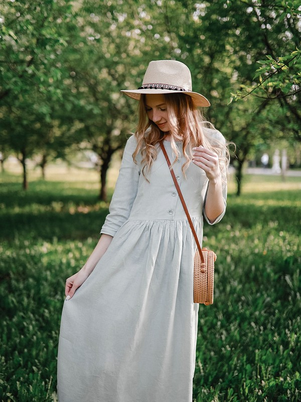 Льняное платье от kotmarkot