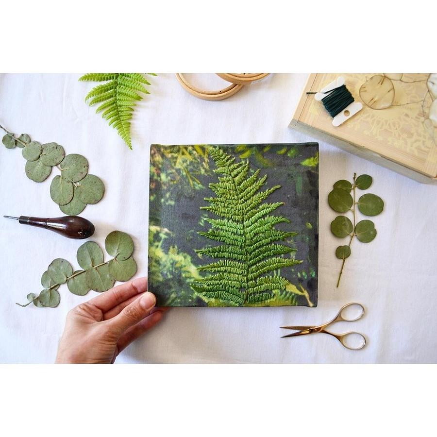 Вышивка в3D: рукодельный instagram недели