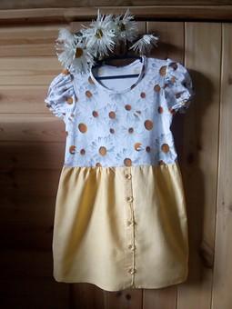 Работа с названием Детское летнее платье