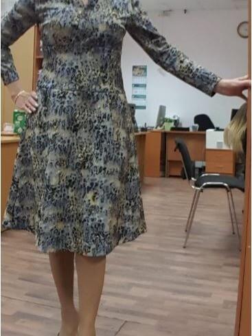 Платье трикотажное от Ольга Зайцева