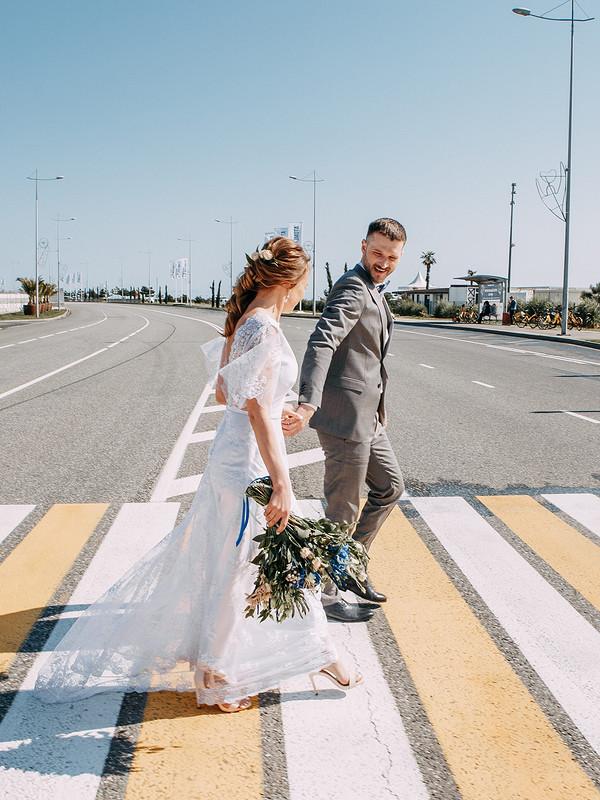 Свадебное платье от kotmarkot
