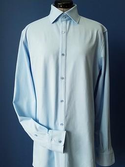 Работа с названием Трикотажная мужская рубашка