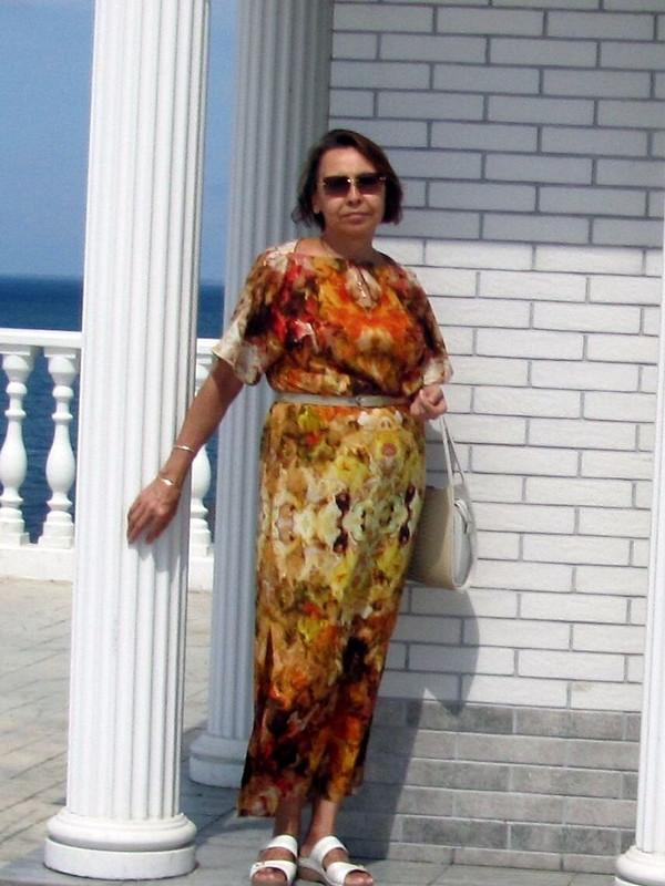Платье вафриканском стиле