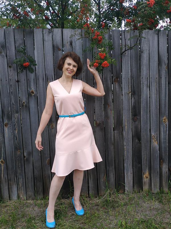 Платье-сарафан 12/2018  №109.