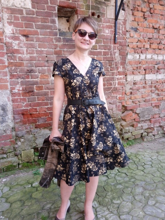 платье «Мими» (академия шитья, 01/2015) от MariaMBF