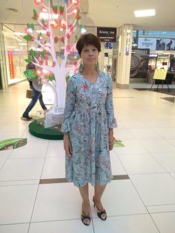 Работа с названием Романтичное платье