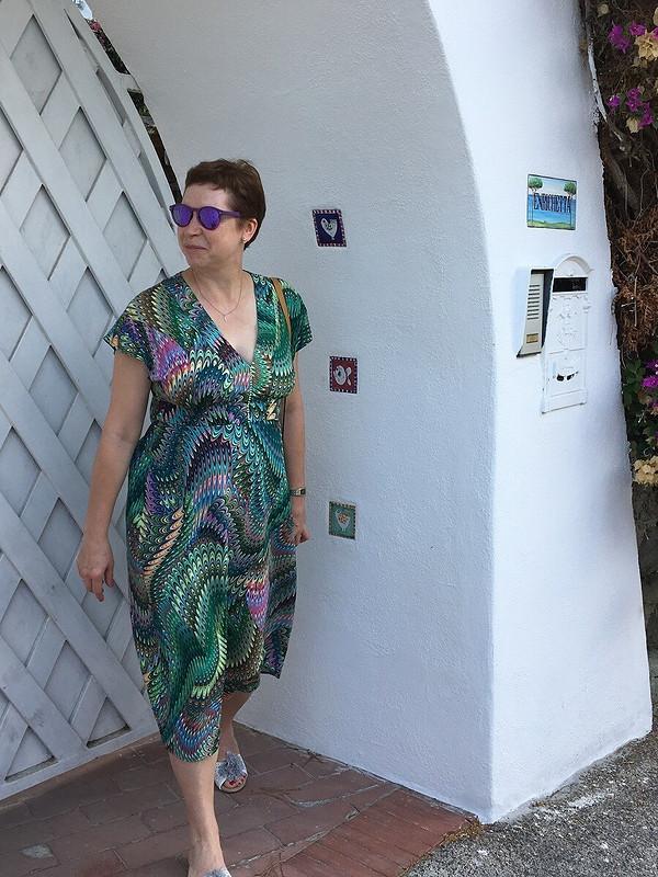 Очень удобное отпускное платье