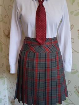 Работа с названием Школьная юбка