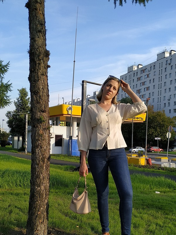 Блуза от Moscow never sleeps