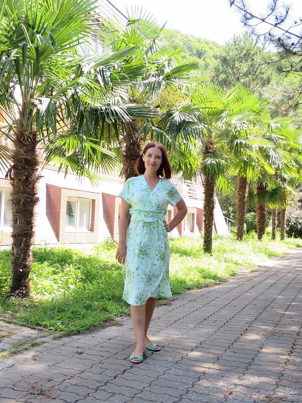 Платье-халат от Татьяна Яковенко