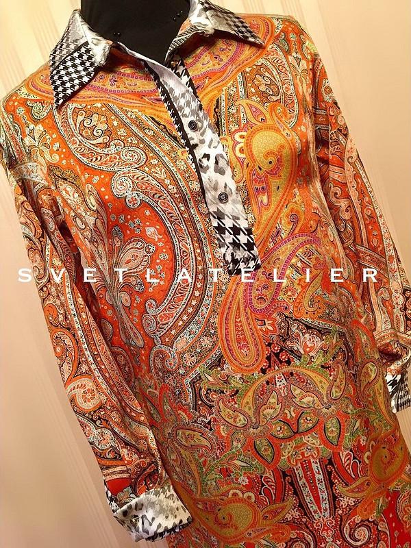 Рубашка «Неиссякаемые шёлковые возможности» от svetlat