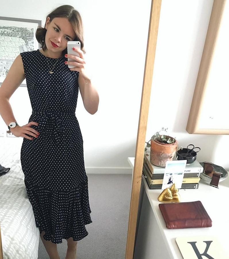 Платья икое-что ещё: швейный instagram недели