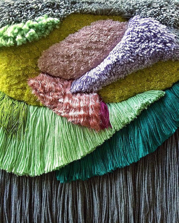 Игра сцветами ифактурами: рукодельный instagram недели