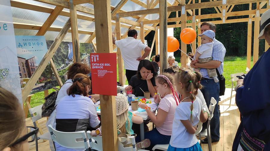 Сити-XXI век поддержала фестиваль «Традиция»