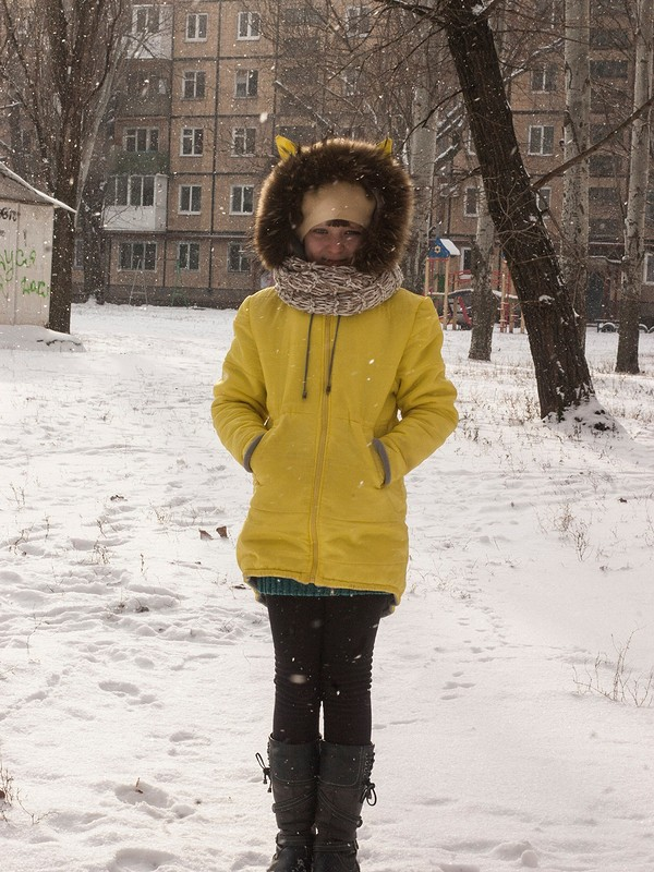 Зимняя курточка сушками